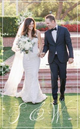 Real Wedding-S&W holding hands and walking together