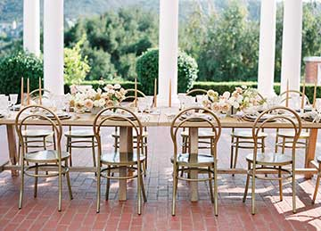 Bridal Table with chairs